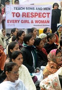 Delhi protest against rape (Source: Forbes.com)